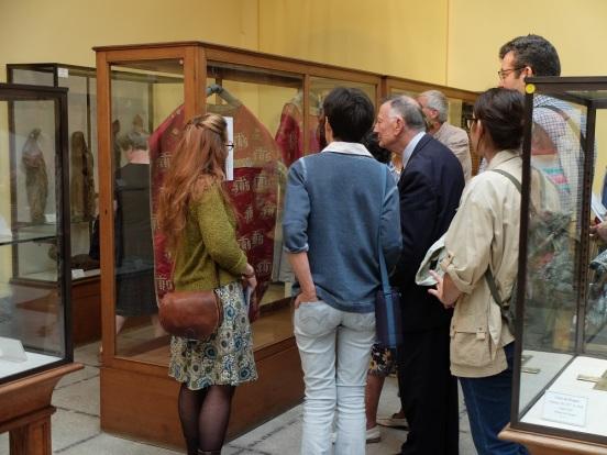 Visite guidée musée diocésain chasuble