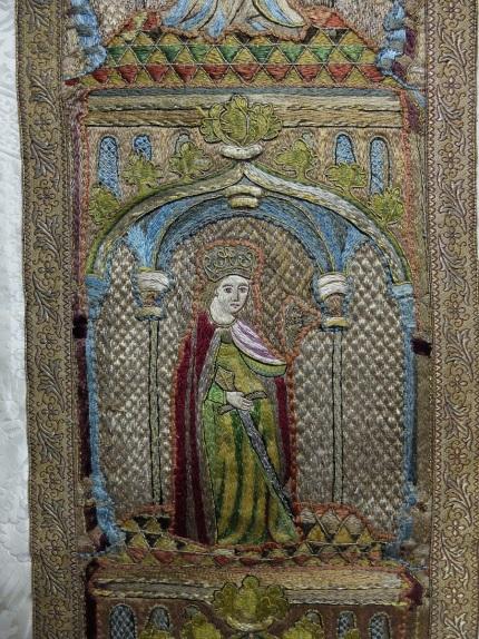 Chasuble de Notre-Dame du Rosaire de Floreffe