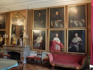 Salle des portraits, évêché de Namur