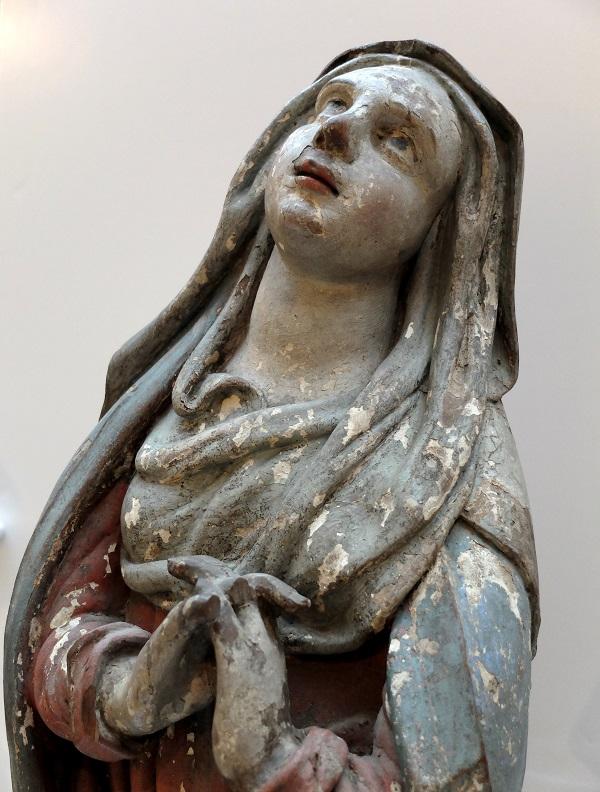Vierge provenant de la chapelle de Notre-Dame de Lorette, Rochefort, Belgique