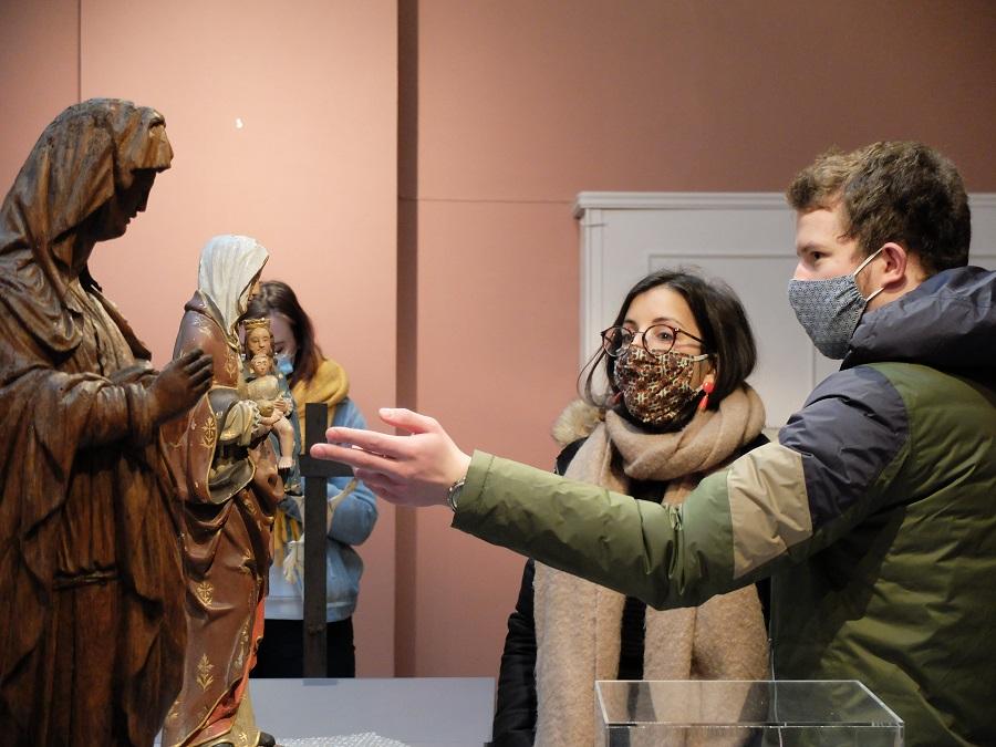 Visite du musée diocésain de Namur, avec un nouveau parcours