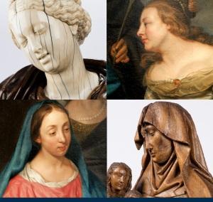 Visages féminins du musée diocésain de Namur, Michaelina Wautier, Sainte Anne, Vierge à l'Enfant